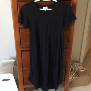 NWOT Lularoe Carly Swing Dress Black
